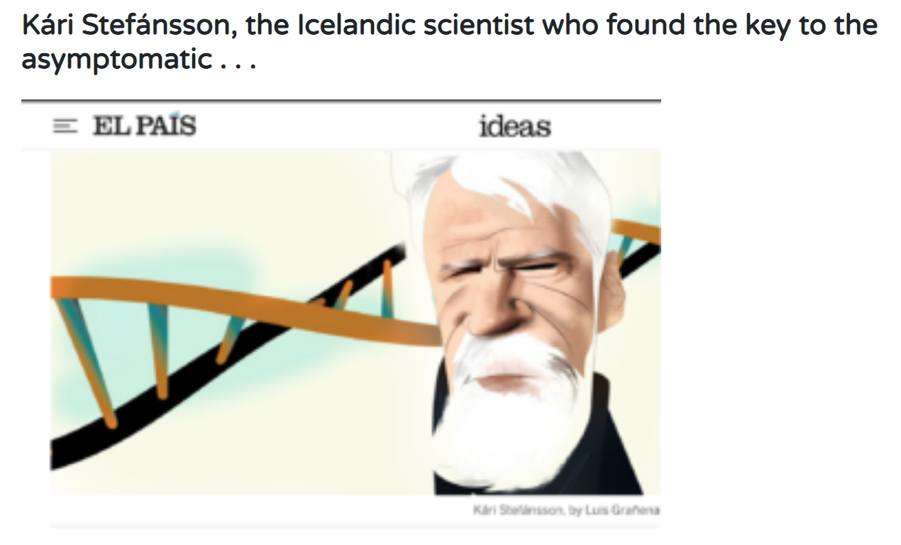 """The Icelandic scientist who found the """"Asymptomatic Key"""" for a transmission Covid19 disease"""